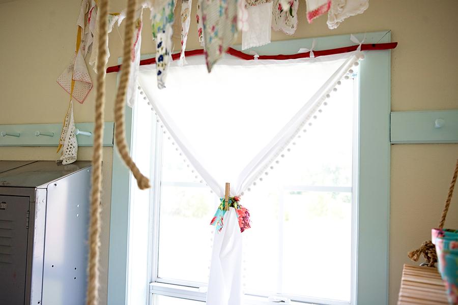 diy tree limb curtain rod. Black Bedroom Furniture Sets. Home Design Ideas