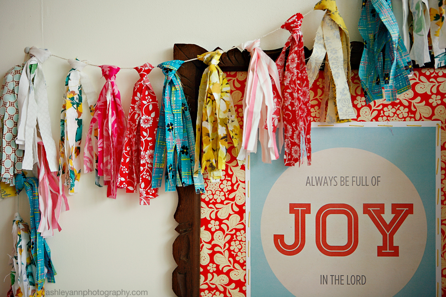 Diy Scrap Fabric Garland 187 Ashleyannphotography Com
