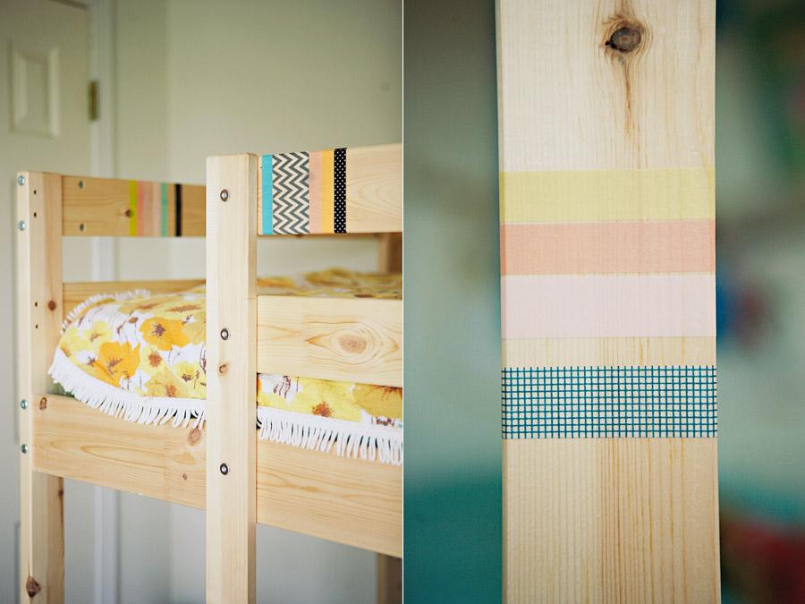 Diy Washi Tape Bed