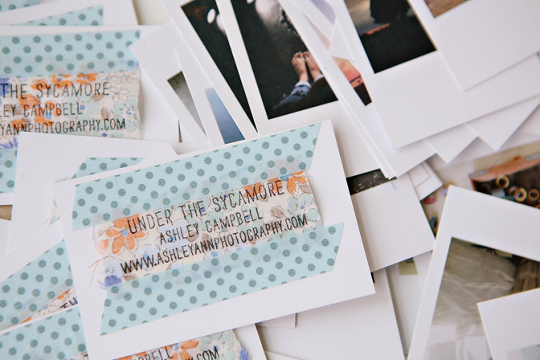 Diy mini print fabric business cards ashleyannphotography 414businesscards 1 colourmoves
